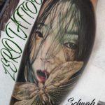 妖怪のタトゥー