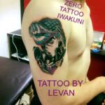 ジョジョのタトゥー